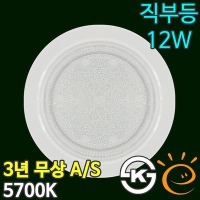 LED직부등 원형 12W 욕실조명 DK-2765 대경LED